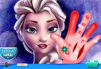 Cura la mano di Elsa