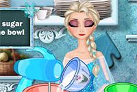 Elsa cucina la torta