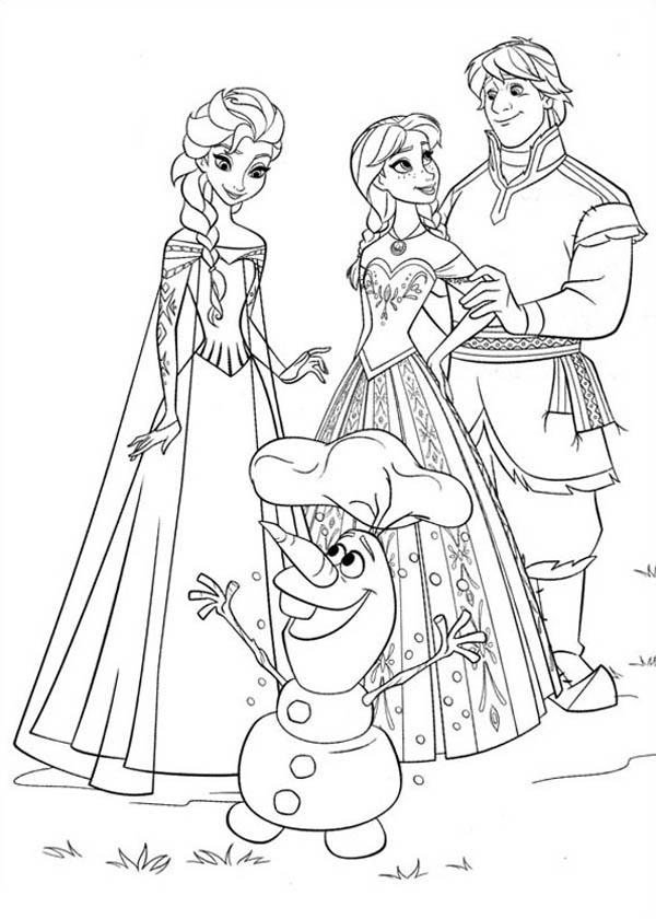 disegni da stampare di frozen