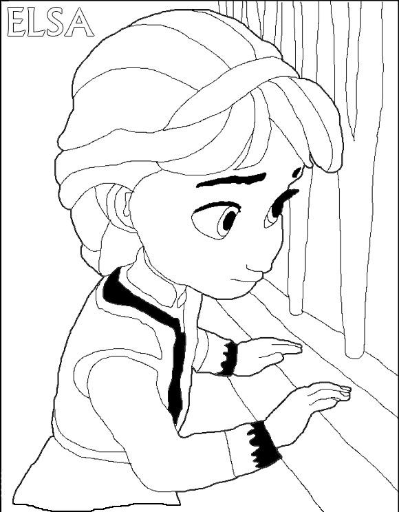 Disegna Elsa del cartone Frozen - Il regno di ghiaccio - YouTube