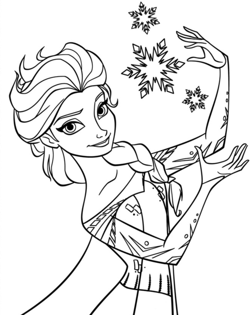 elsa-frozen-colorare