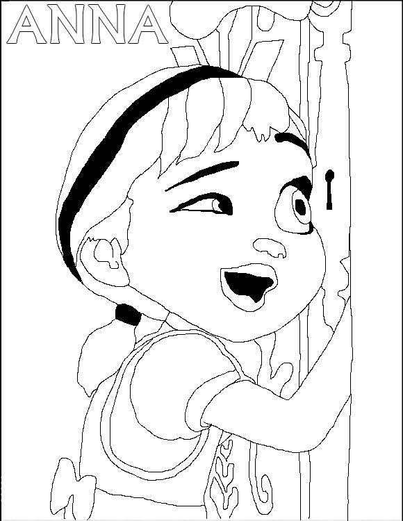 Disegni Della Principessa Anna Da Stampare Giochi Di Frozen