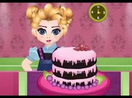 Elsa e la torta al cioccolato