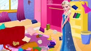 Elsa e la sua camera da letto